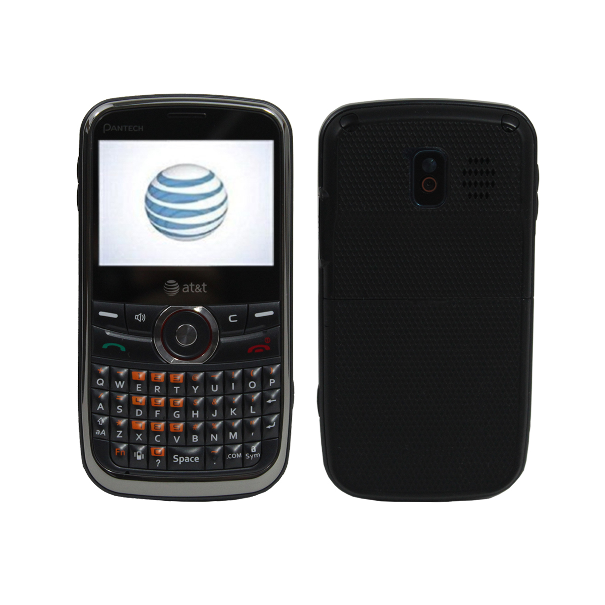 Pantech Link P7040 At T Gsm Unlocked Qwerty Keyboard Phone Gray Wine Ebay